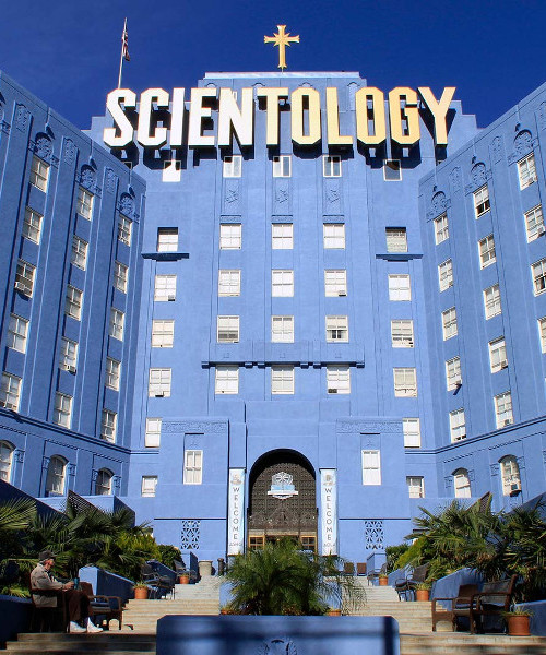 Scientology Big Blue Building